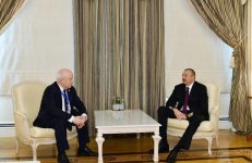 President Aliyev receives chairman of CIS Executive Committee (PHOTO) - Gallery Thumbnail