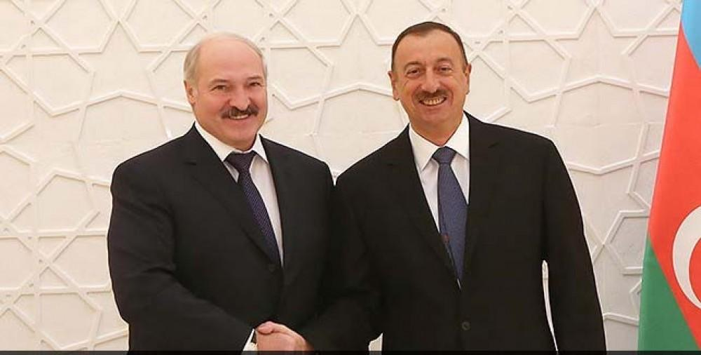 Presidents of Azerbaijan, Belarus hold phone conversation