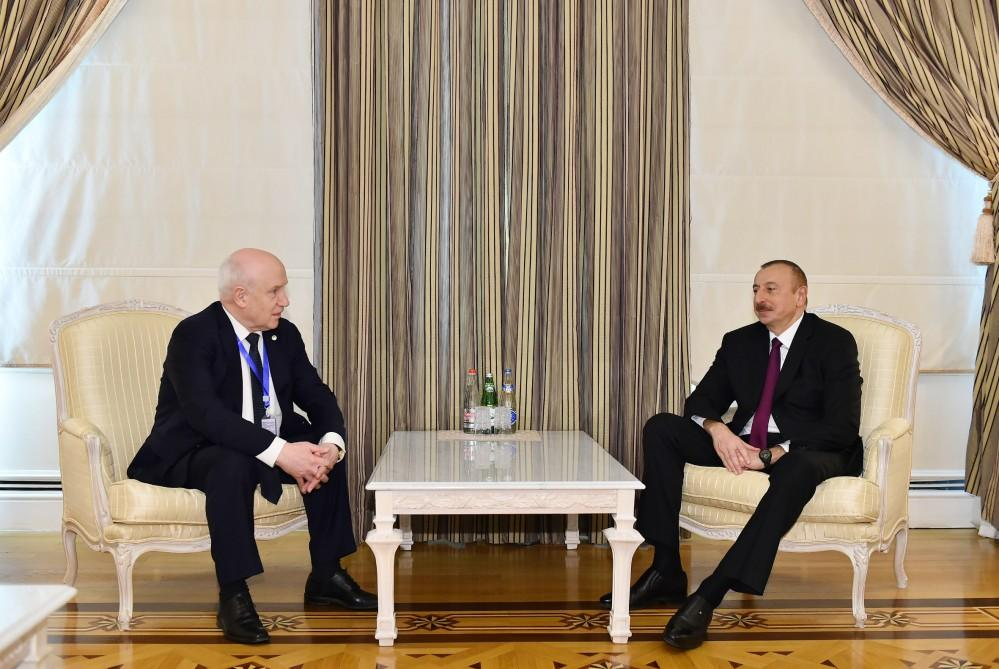 President Aliyev receives chairman of CIS Executive Committee (PHOTO) - Gallery Image