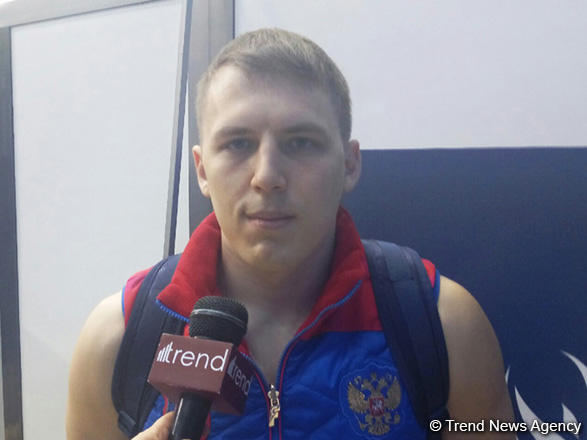Russian gymnast upset with his performance at European Championships in Baku