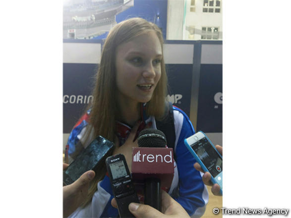 Russian gymnast: European Championships in Baku organized at high level