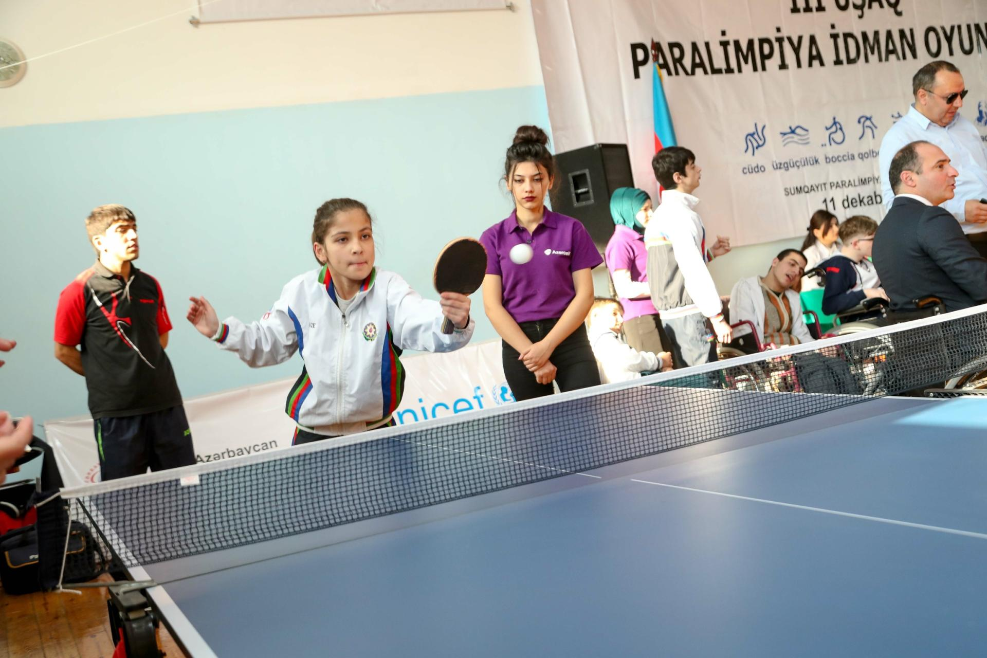 Children's Paralympic Committee expanding operations with Azercell's support (PHOTO) - Gallery Image