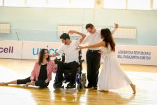 Children's Paralympic Committee expanding operations with Azercell's support (PHOTO) - Gallery Thumbnail