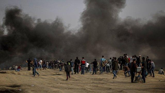 Clashes in eastern Gaza with Israeli soldiers kill Palestinian