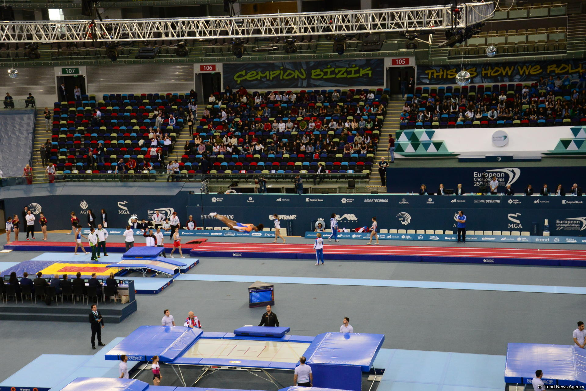 Azerbaijan's gymnast hopes to feel fan support at European Championships in Baku