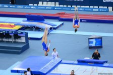 Best moments of 26th European Championships in Trampoline, Double Mini-Trampoline and Tumbling in Baku (PHOTO) - Gallery Thumbnail