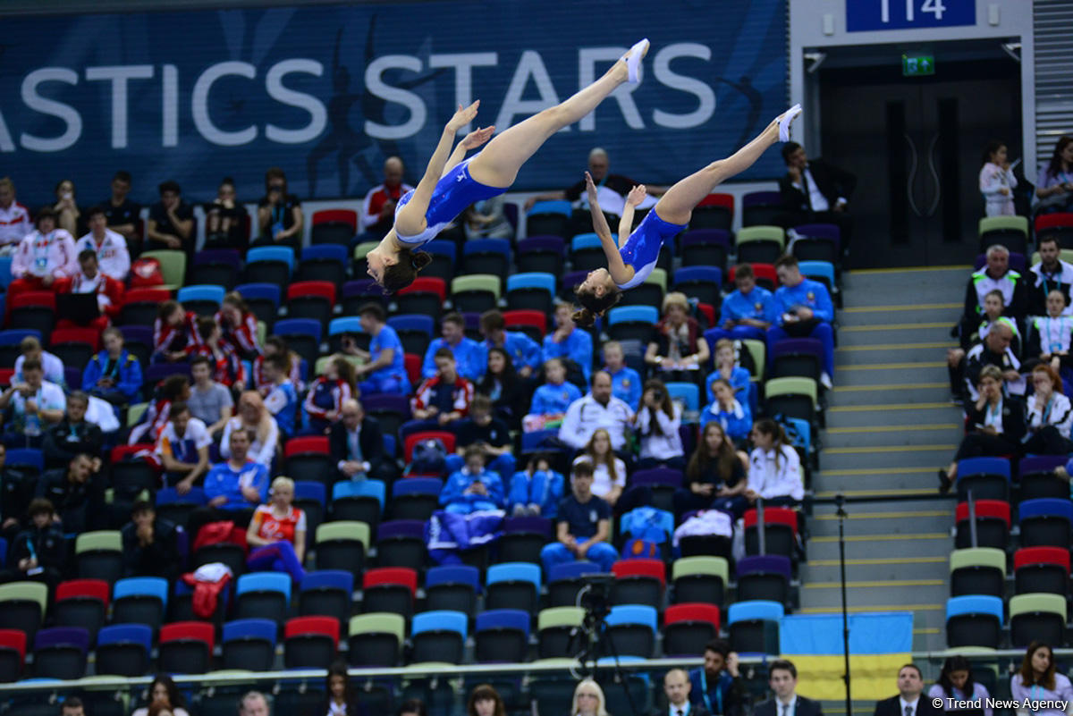 Best moments of 26th European Championships in Trampoline, Double Mini-Trampoline and Tumbling in Baku (PHOTO) - Gallery Image