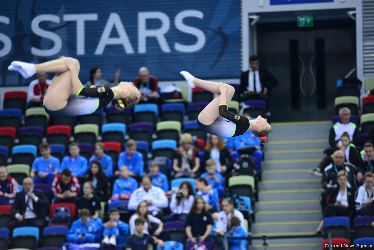 Best moments of 26th European Championships in Trampoline, Double Mini-Trampoline and Tumbling in Baku (PHOTO)