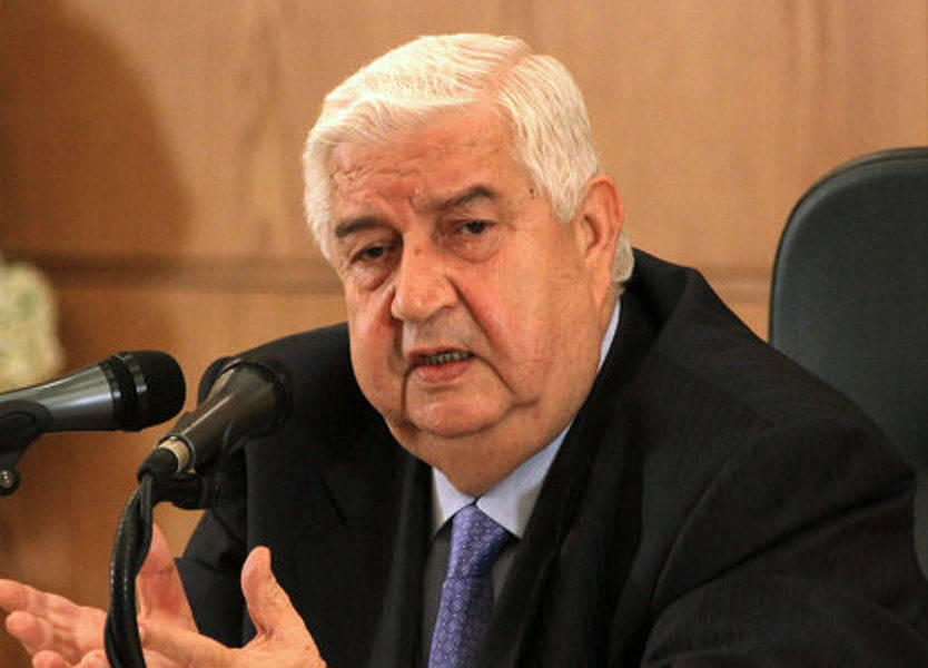 Al-Muallem: Syria seeking diplomatic solution without foreign interference