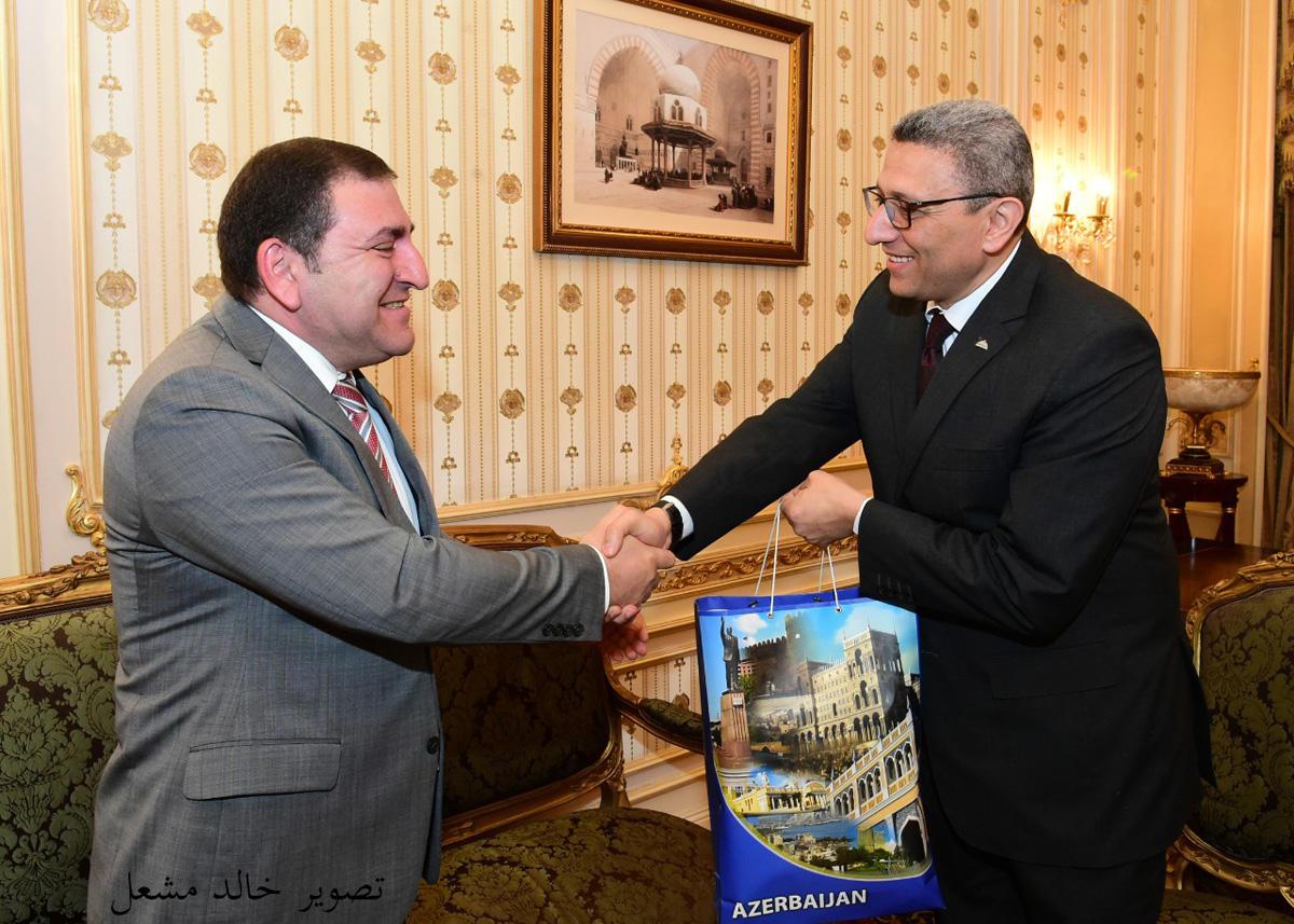 Misir parlamentində Azərbaycan ilə dostluq qrupu yaradılıb (FOTO)