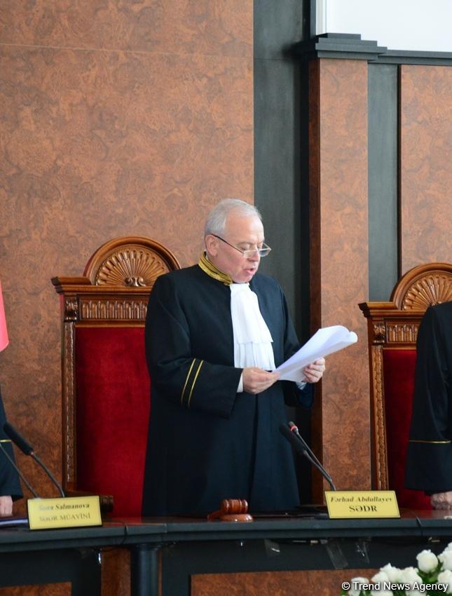 Конституционный суд утвердил результаты президентских выборов, Ильхам Алиев объявлен Президентом Азербайджана  (ФОТО) - Gallery Image
