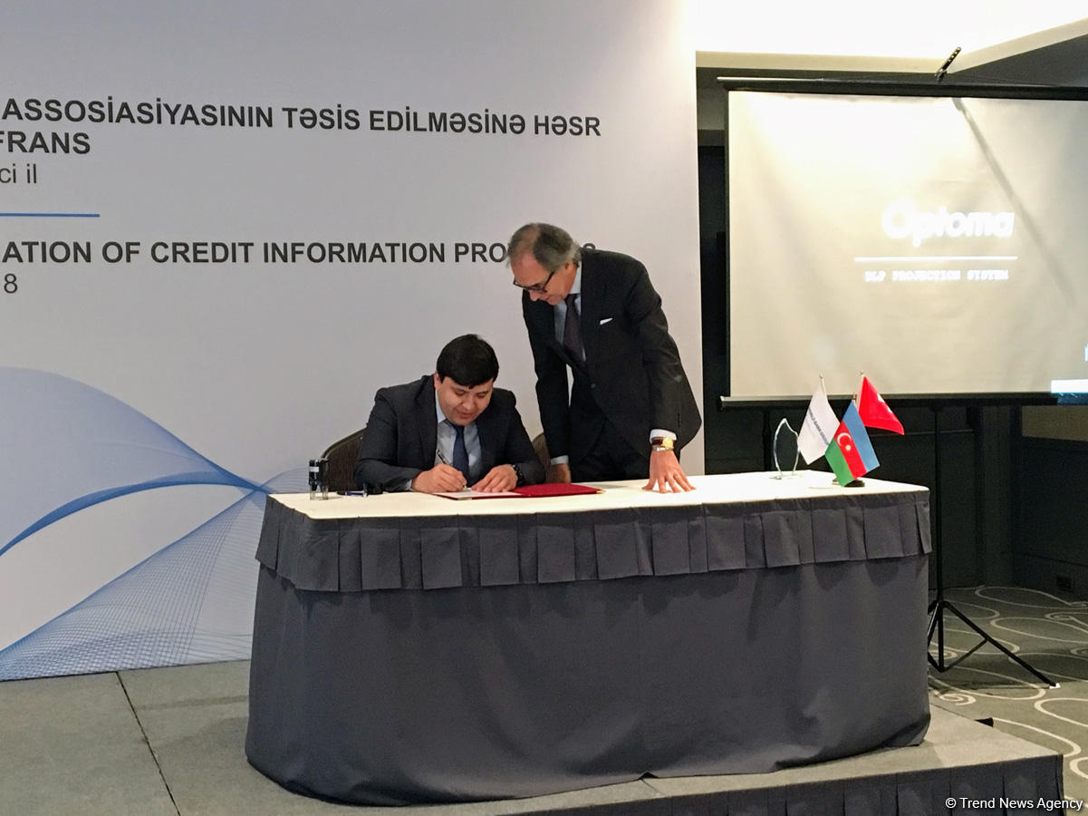 Regional association of providers of credit bureaus establsihed in Azerbaijan (PHOTO) - Gallery Image