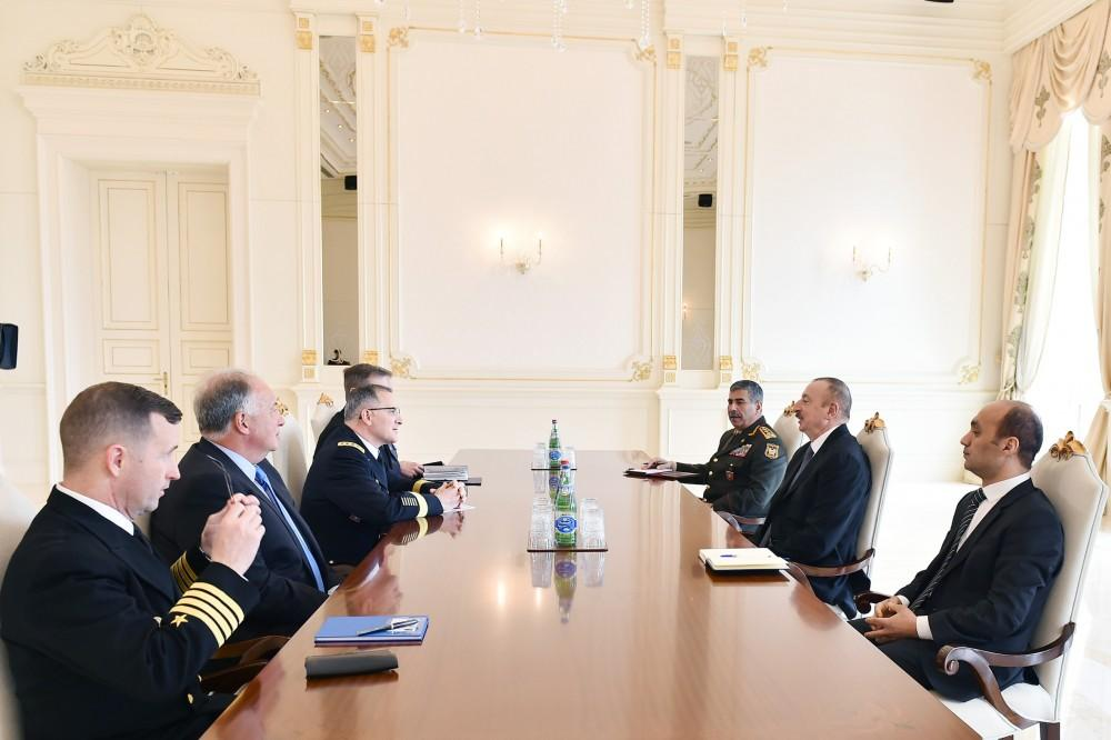 Ilham Aliyev meets Gen.Scaparrotti; Baku hosts high-level meeting of Russian, NATO generals
