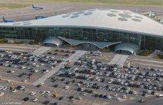 Уникальные кадры Международного аэропорта Гейдар Алиев (ФОТО) - Gallery Thumbnail