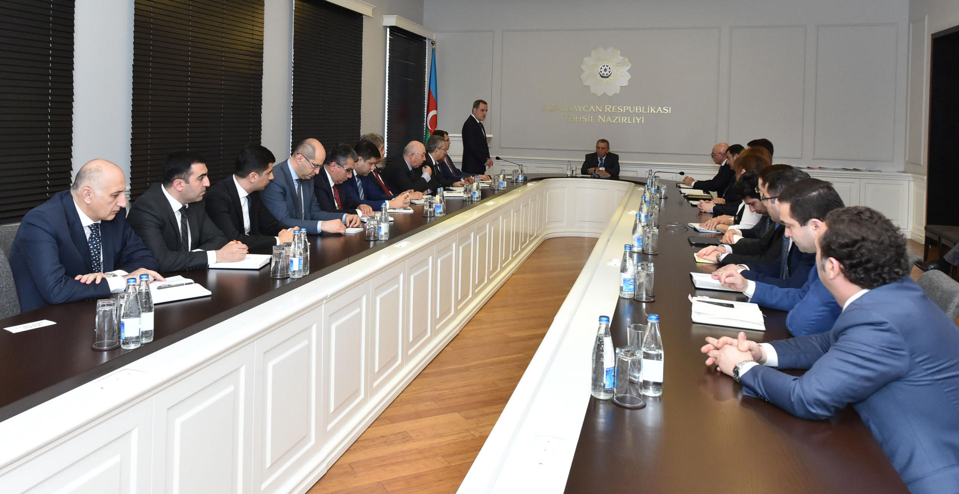 Azerbaijani Presidential Administration head introduces new education minister (PHOTO) - Gallery Image