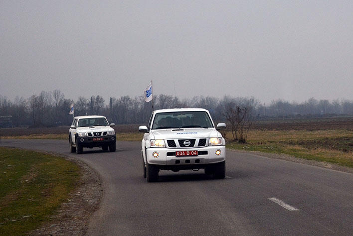 OSCE monitoring on Azerbaijan-Armenia state border ends with no incident