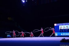Azerbaijani gymnasts reach FIG World Cup finals in hoop exercises (PHOTO) - Gallery Thumbnail