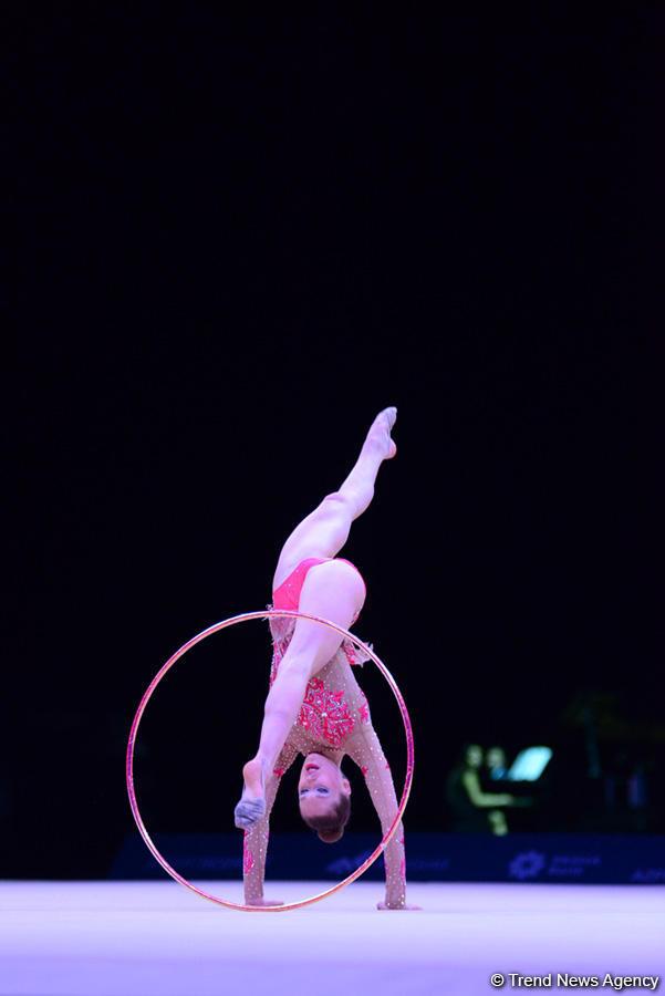 Лучшие моменты c Кубка мира по художественной гимнастике в Баку (ФОТОРЕПОРТАЖ) - Gallery Image