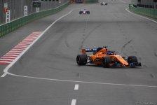 Bakıda Formula 1 pilotlarının sərbəst yürüşü başa çatdı (YENİLƏNİB) (FOTO) - Gallery Thumbnail
