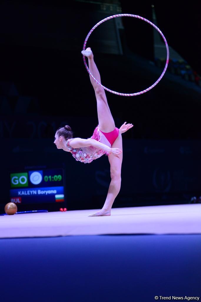 Стартовали финалы Кубка мира по художественной гимнастике в Баку (ФОТО) - Gallery Image