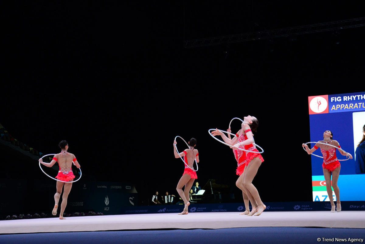 Azerbaijani gymnasts win bronze at FIG World Cup in Baku  (PHOTO) - Gallery Image