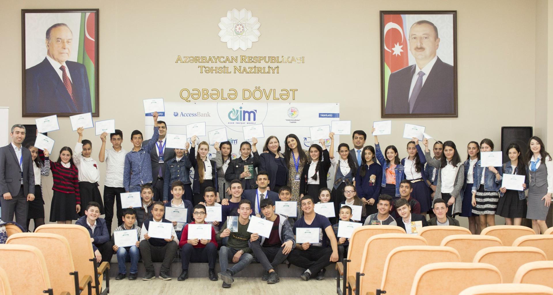 AccessBank и ASAN Könüllüləri продолжают реализацию проекта AİM (ФОТО) - Gallery Image