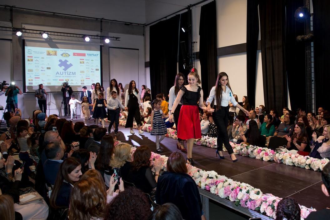 Autizmli uşaqlar podiuma çıxdılar (FOTO) - Gallery Image