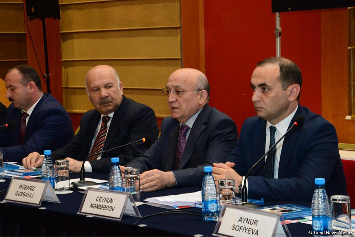"""В Баку проходит конференция """"Гейдар Алиев  и национально-духовные ценности» (ФОТО) - Gallery Image"""