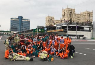 PwC Azerbaijan's F1 Marshals Team: Three Years of Drive (PHOTO)