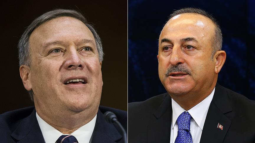 Turkish FM, US secretary of state to mull settlement of Syrian crisis