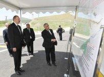 Prezident İlham Əliyev Xızıda avtomobil yolunun açılışında iştirak edib (FOTO) (YENİLƏNİB) - Gallery Thumbnail