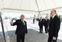Ilham Aliyev inaugurates section of Khachmaz-Khudat highway after renovation (PHOTO) - Gallery Thumbnail