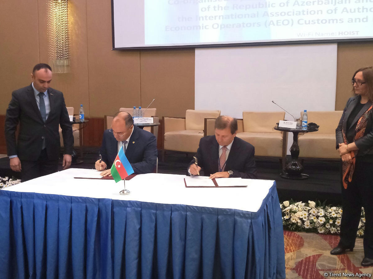 Azerbaijan to expand co-op with International Association of Authorized Economic Operator (PHOTO) - Gallery Image
