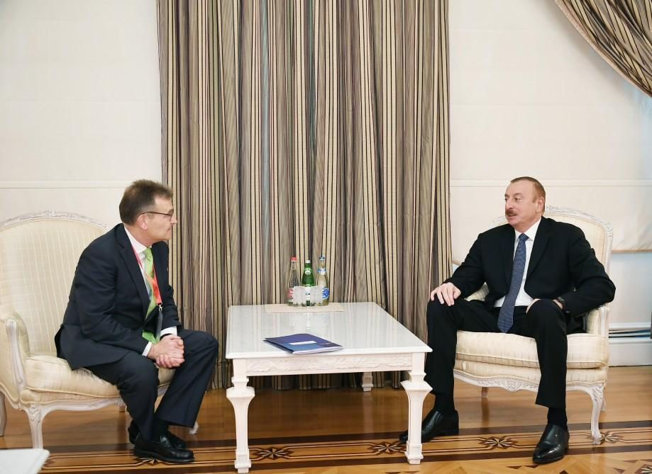 President Aliyev: Azerbaijan has already become one of int'l transport centers