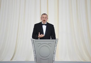 President Aliyev: North-South, East-West transport corridor projects being implemented with Azerbaijan's big investments