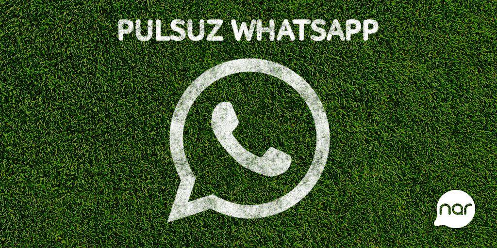 Nar makes WhatsApp free