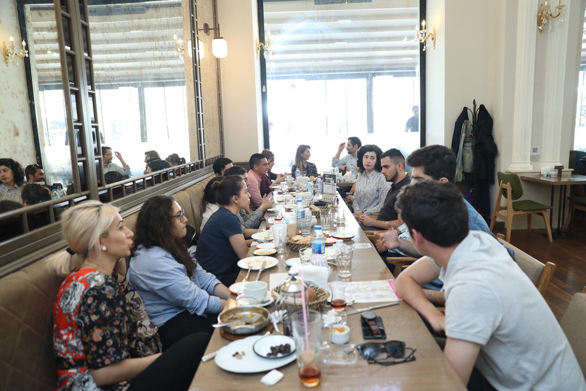 Azercell's Barama Center continues to support young startups (PHOTO)