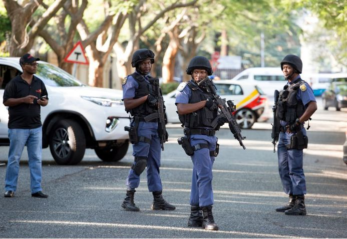 5 people injured in shooting in S. African capital
