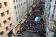 İstiklal Caddesi'nde ABD ve İsrail protestosu (FOTO) - Gallery Thumbnail