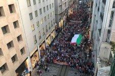 İstiklal Caddesi'nde ABD ve İsrail protestosu (FOTO) - Gallery Thumbnail