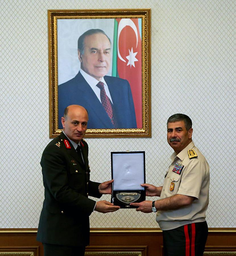 Minister Hasanov meets heads of military educational institutions of Azerbaijan, Turkey, Georgia (PHOTO) - Gallery Image