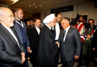 Istanbul hosts historic meeting between Rouhani, King Abdullah ‎ ‎