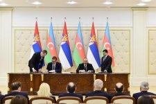 Azərbaycan-Serbiya sənədləri imzalanıb (FOTO) - Gallery Thumbnail