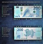 New banknote with face value of 200 manats presented in Baku (PHOTO) - Gallery Thumbnail