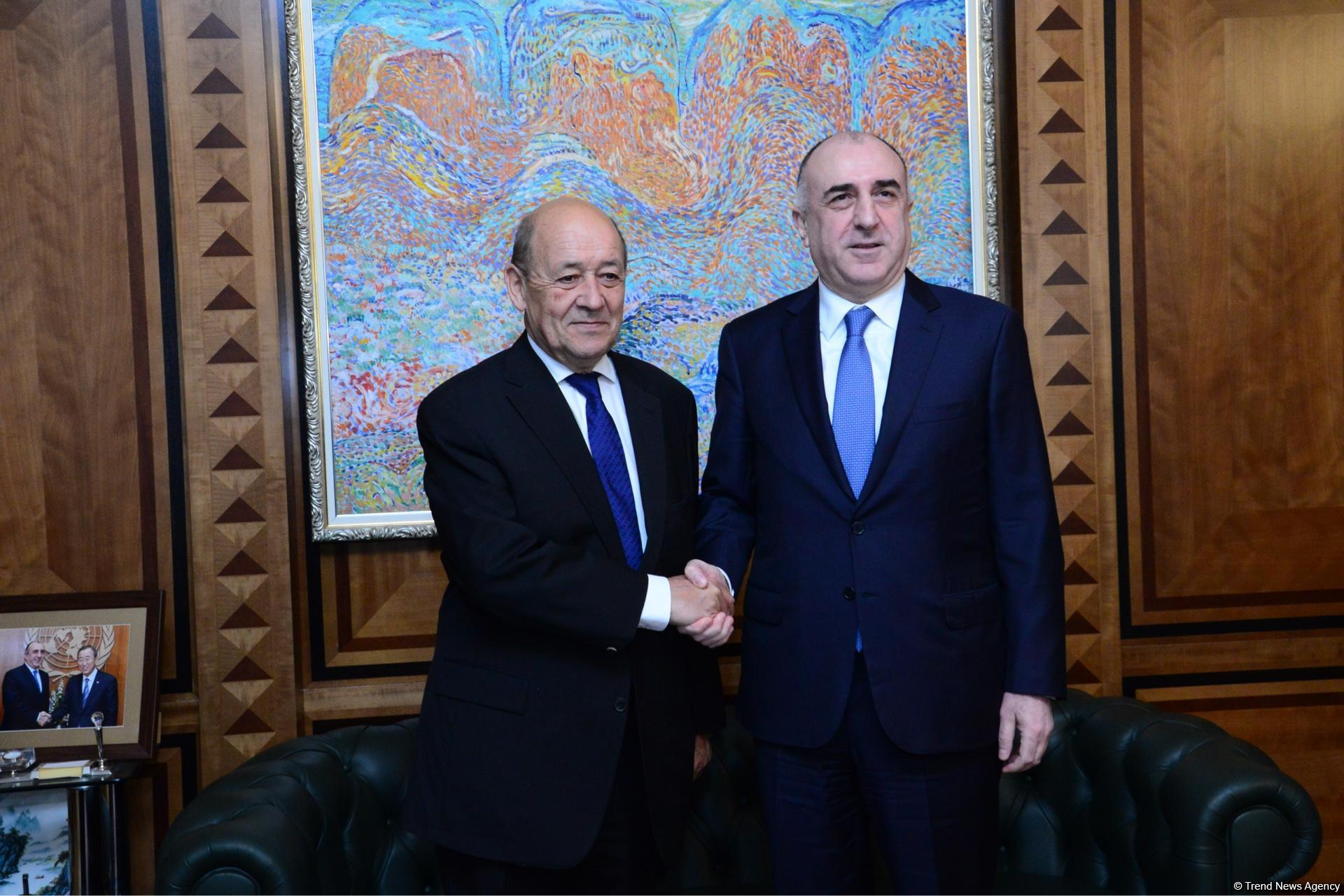 France to continue to contribute to Karabakh conflict's settlement – Azerbaijan's FM (PHOTO) - Gallery Image