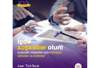 Azer Turk Bank to start new campaign for corporate clients