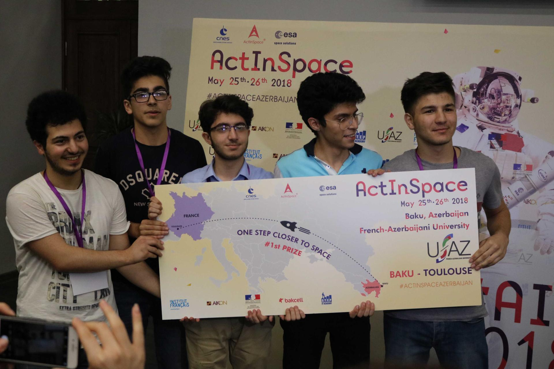 "Bakcell supports ""ActInSpace 2018 Azerbaijan"" int'l innovation contest held at UFAZ (PHOTO) - Gallery Image"