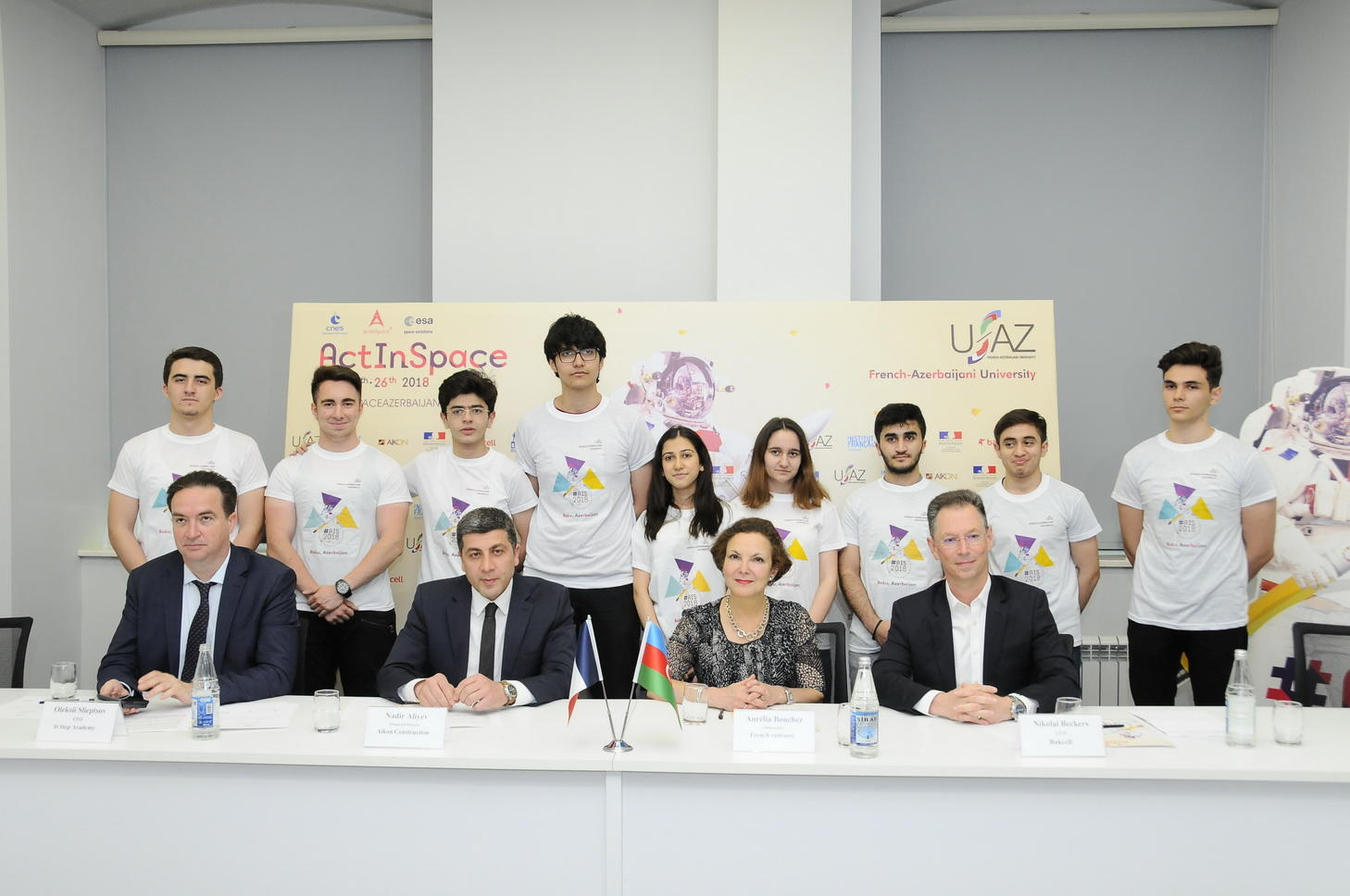 "Bakcell supports ""ActInSpace 2018 Azerbaijan"" int'l innovation contest held at UFAZ (PHOTO)"