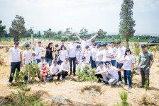 Банк ВТБ (Азербайджан) посадил 100 деревьев в честь 100-летнего юбилея Азербайджанской Демократической Республики (ФОТО) - Gallery Thumbnail