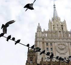 Birds eat words at Russian Foreign Ministry?